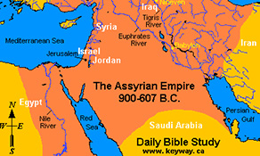 maps of ancient assyria 900 600 bc